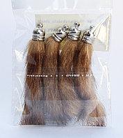 Хвостики для декора, коричневые, 10 см, фото 1