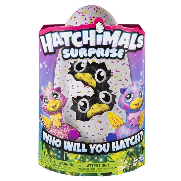 Игрушка Hatchimals сюрприз - близнецы интерактивные питомцы, вылупляющиеся из яйца