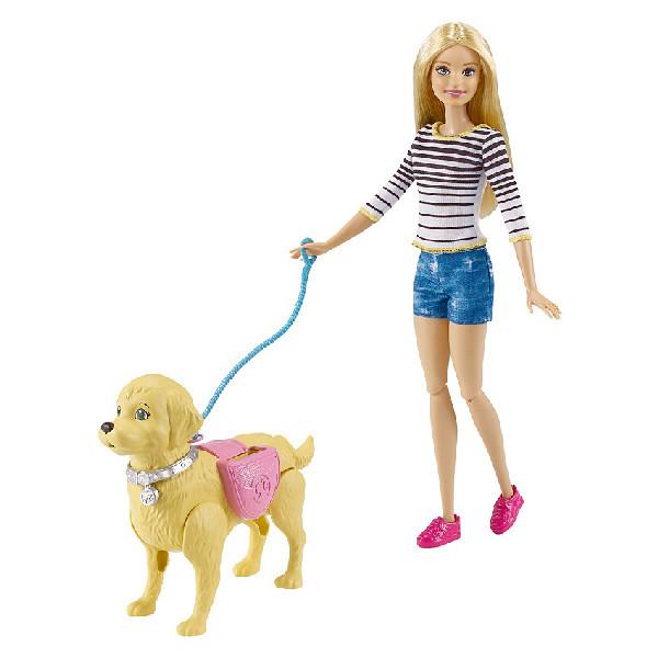 """Игрушка Barbie Игровой набор """"Прогулка с питомцем"""""""