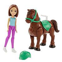 Игрушка Barbie В движении Пони и кукла в асс., фото 1