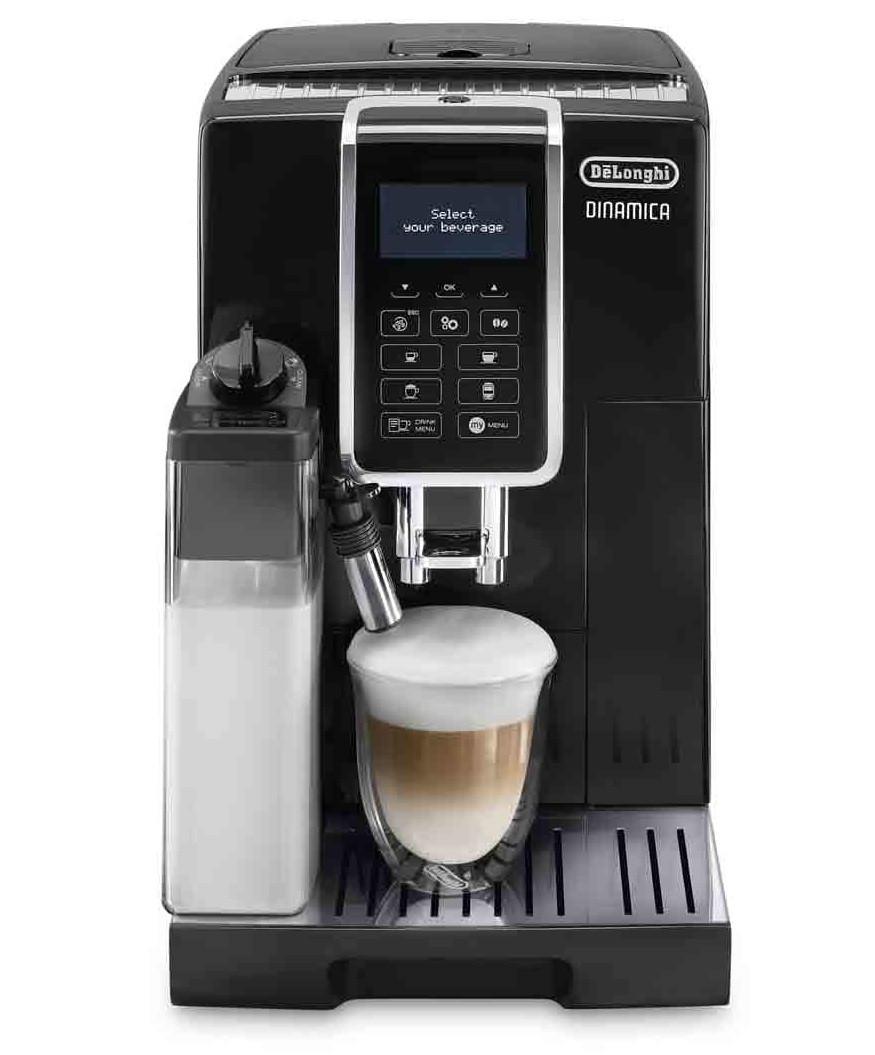 Кофемашина DeLonghi ECAM 350.55.B, Black