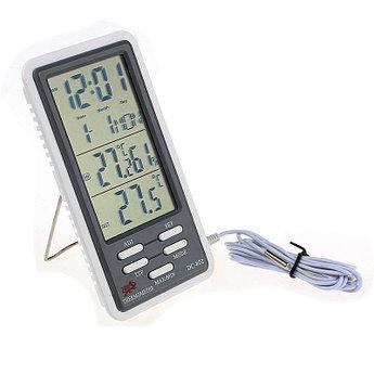 Гигрометр / термометр / часы DC-802. Бесплатная доставка