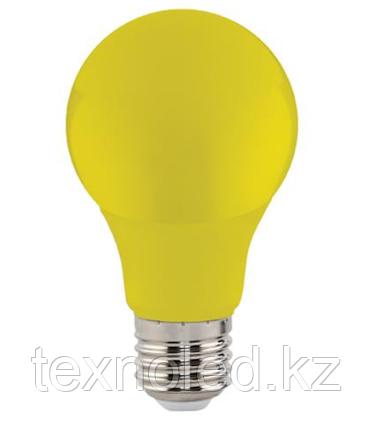 Светодиодная лампа  E27/3W, ЖЕЛТЫЙ,КРАСНЫЙ,ЗЕЛЕНЫЙ, СИНИЙ, фото 2