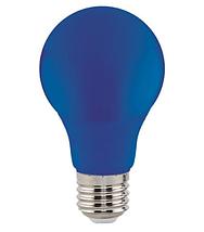 Светодиодная лампа  E27/3W, ЖЕЛТЫЙ,КРАСНЫЙ,ЗЕЛЕНЫЙ, СИНИЙ, фото 3