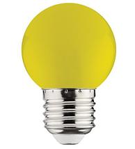 Светодиодная лампа  E27/1W, ЖЕЛТЫЙ,КРАСНЫЙ,ЗЕЛЕНЫЙ,СИНИЙ, фото 2