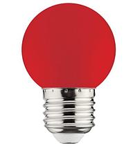 Светодиодная лампа  E27/1W, ЖЕЛТЫЙ,КРАСНЫЙ,ЗЕЛЕНЫЙ,СИНИЙ, фото 3