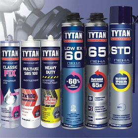 Монтажный клей, пена, герметик (продукция TYTAN)
