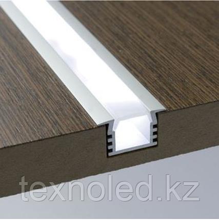 Алюминиевый профиль для Led 20*18 встраиваемый, фото 2