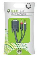 Кабель аудио-видео Xbox 360 VGA HD AV Cable, для подключения к телевизору и монитору