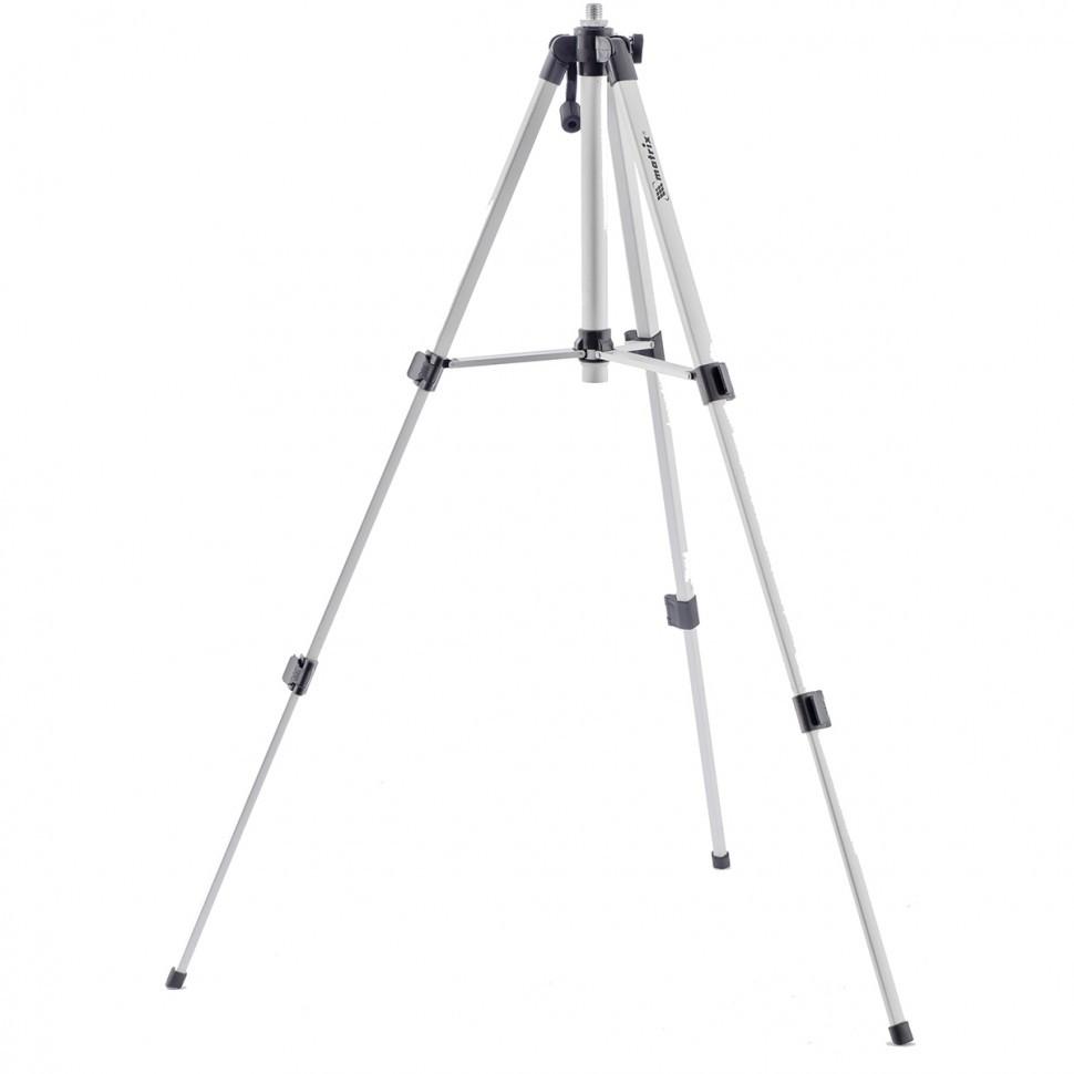"(35089) Штатив для лазерного уровня 1100 мм, адаптер 5/8""-1/4""// Matrix"