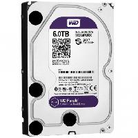 "Жёсткий диск WD Purple™ WD60PURZ 6ТБ 3,5"" 5400RPM 64MB (SATA-III) DV&NVR-III) DV&NVR"