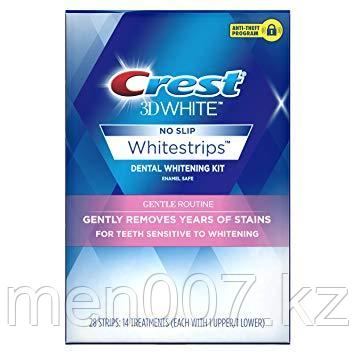 Crest 3D White 28 полосок на 14 применений (Отбеливающие полоски для чувствительных зубов) США