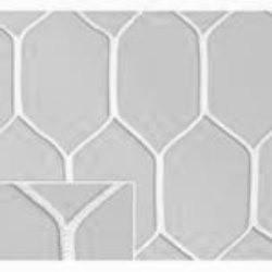 Сетка шестигранная для мини футбольных ворот нить D=5 мм (3х2 м)