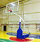 Стойка баскетбольная профессиональная передвижная складная с защитой, фото 3