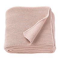 ИГАБРИТТА Плед, бледно-розовый, фото 1