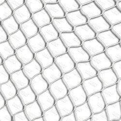 Сетка для футбольных ворот, нить D=2,5 мм  (7,32х2,44 м)