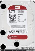 "Жёсткий диск WD Red™ WD30EFRX 3ТБ 3,5"" 5400RPM 64MB (SATA-III) NAS Edition, фото 1"