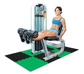 Маты- пазлы для фитнеса и тренажеров