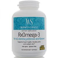 БАД WomenSense, RxOmega-3 (120 капсул)