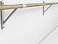 Балетный станок однорядный настенный 1м, фото 3