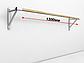 Балетный станок однорядный настенный 3м , фото 2