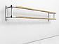 Балетный станок двухрядный настенный 4м , фото 2