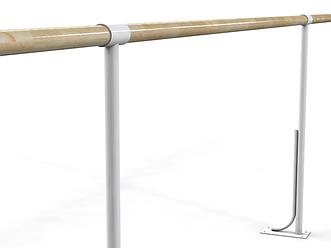 Балетный напольный однорядный  станок  2м