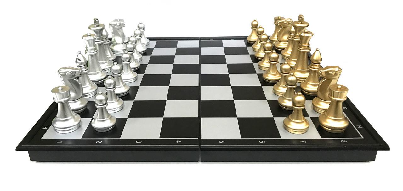Шахматы 3в 1 (38см х 38см) магнитный