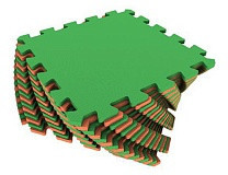 Универсальный коврик 25*25(см) оранжево-зеленый