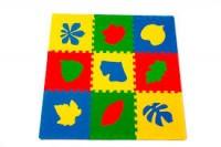 Универсальный коврик Листья 33*33(см), 9 дет