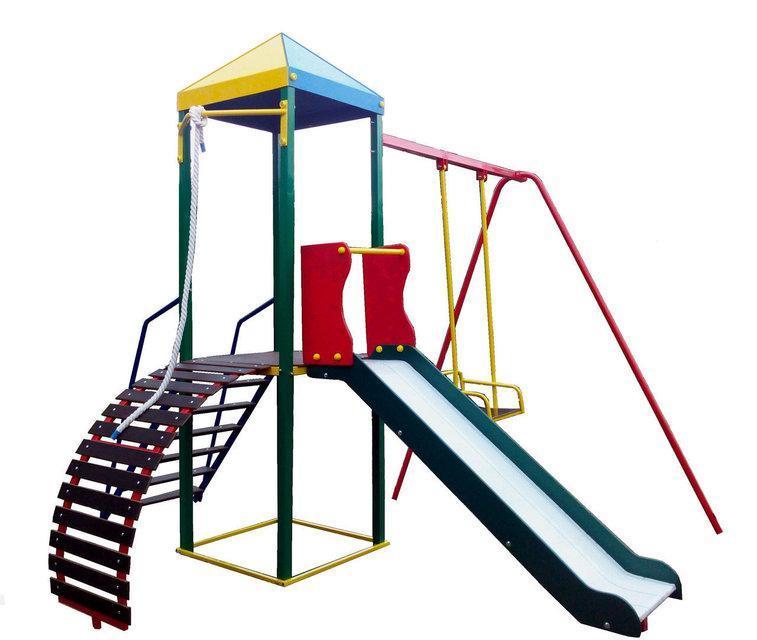 """Комплекс """"ОМЕГА-1"""", спортивно-игровой для детских площадок"""