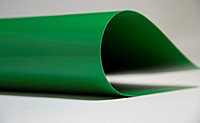 Зеленая тентовая тканьПВХ (610гр) 2,5мХ50м