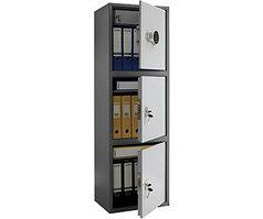 Шкаф бухгалтерский металлический SL-150/3Т EL (1490х460х340 мм)
