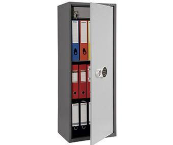 Шкаф бухгалтерский металлический SL-125Т EL (1252х460х340 мм)