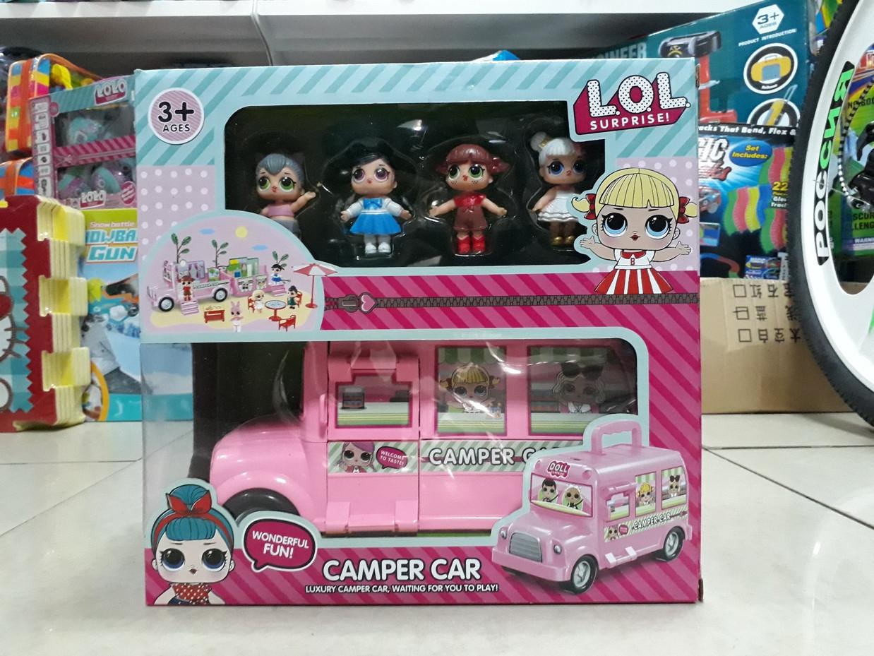 Luxury Camper car Машинка для кукол ЛОЛ