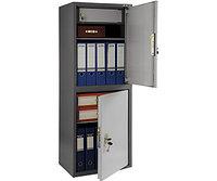 Шкаф бухгалтерский металлический SL-125/2Т (1252х460х340 мм)
