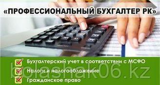 Профессиональный бухгалтер Республики Казахстан