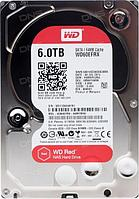 "Жёсткий диск WD Red™ WD60EFRX 6ТБ 3,5"" 5400RPM 64MB (SATA-III) NAS Edition, фото 1"