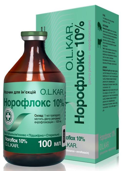 Норофлокс 10% 50 мл