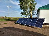 Ветро-Солнечная Электростанция (Комплект-Фазенда)
