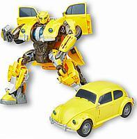Hasbro Transformers Интерактивная игрушка-трансформер Заряженный Бамблби 28 см, фото 1
