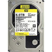 """Жесткий диск WD GOLD WD6002FRYZ 6ТБ 3,5"""" 7200RPM 128MB 512E/4K(SATA-III)"""