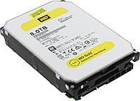 """Жесткий диск WD GOLD WD8002FRYZ 8ТБ 3,5"""" 7200RPM 128MB 512E/4K (SATA-III)"""