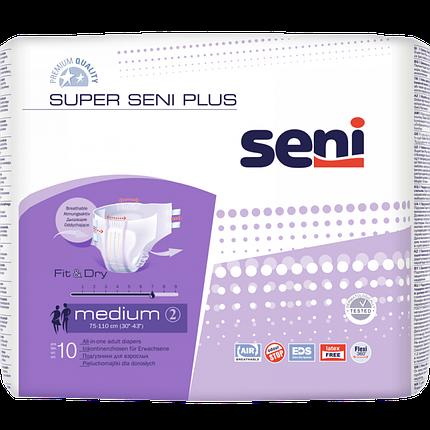 Подгузники д/взрослых Super Seni Plus Medium 10 шт , фото 2