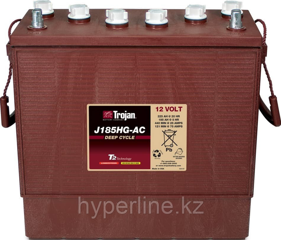 Тяговый аккумулятор Trojan J185HG-AC