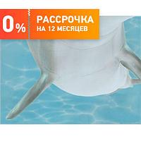 Кафель для ванной Декор Лазурь Дельфины 6 бирюзовый 25Х35 см
