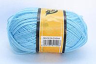 Пряжа акриловая, KING BIRD, 100 гр., голубая
