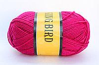 Пряжа акриловая, KING BIRD, 100 гр., малиновая