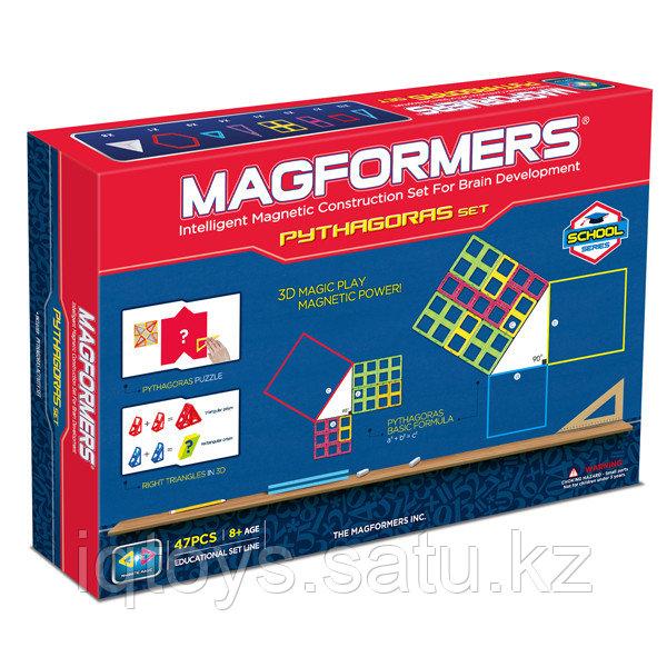 Магнитный конструктор Magformers Pythagoras Set 47 даталей.