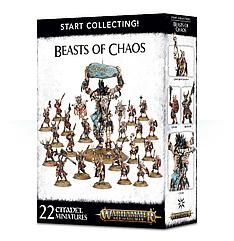 "МИНИАТЮРЫ ВАРХАММЕР: Набор ""Начни собирать! Твари Хаоса (START COLLECTING! BEASTS OF CHAOS)"""